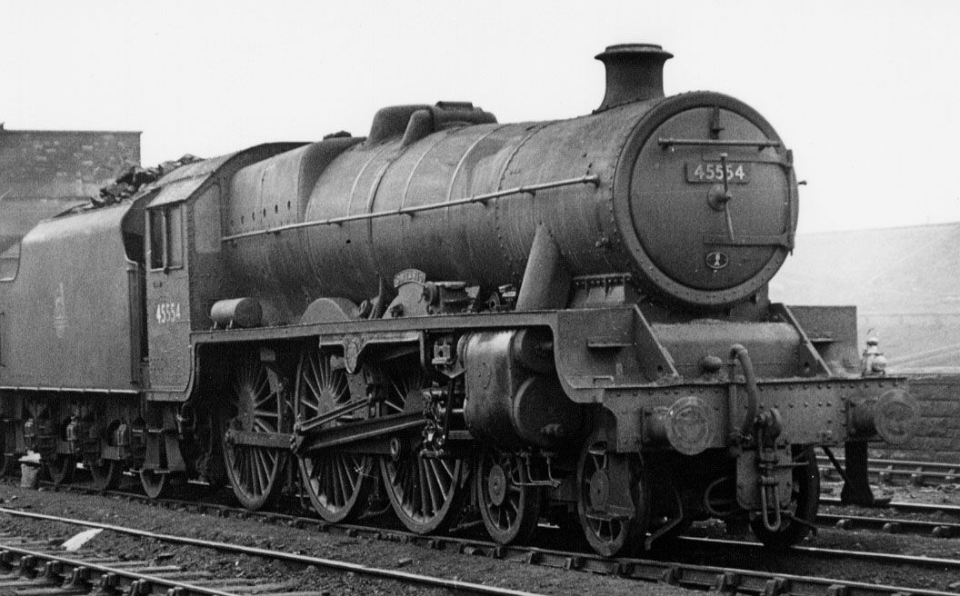 45554 Ontario at Edge Hill MPD, 13 March 1960