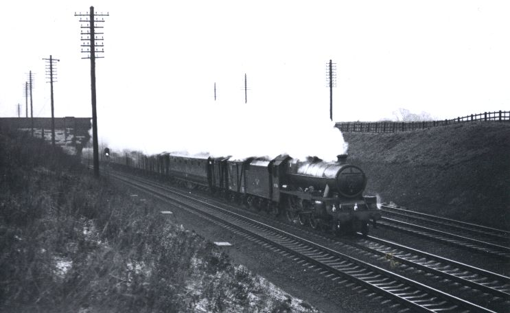 45556 Nova Scotia at Ashton on 7 December 1961