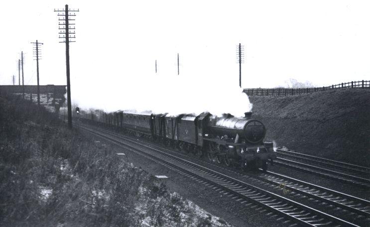 45556 Nova Scotia at Ashton on 7 December 1961