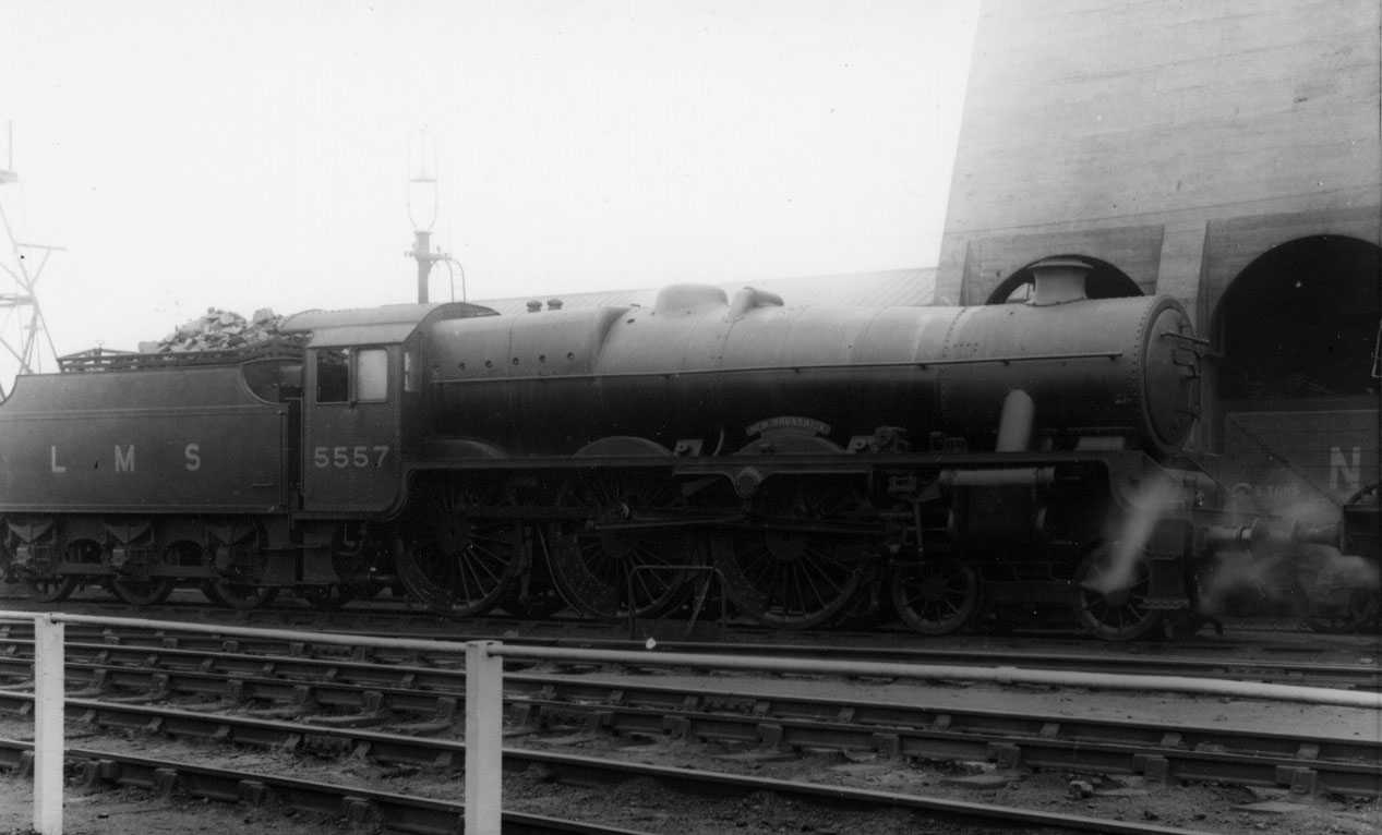5557 New Brunswick at Willesden on 18 April 1937