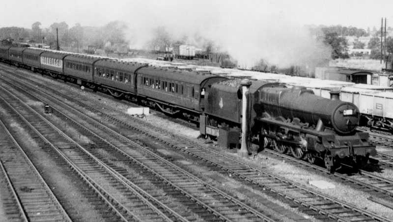 45558 Manitoba at Rugby in 1959