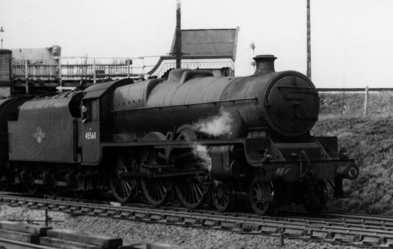 45560 Prince Edward Island at Tamworth on 11 November 1961
