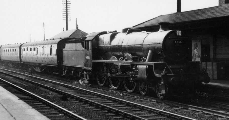 45561 Saskatchewan at Bromsgrove on 29 September 1956