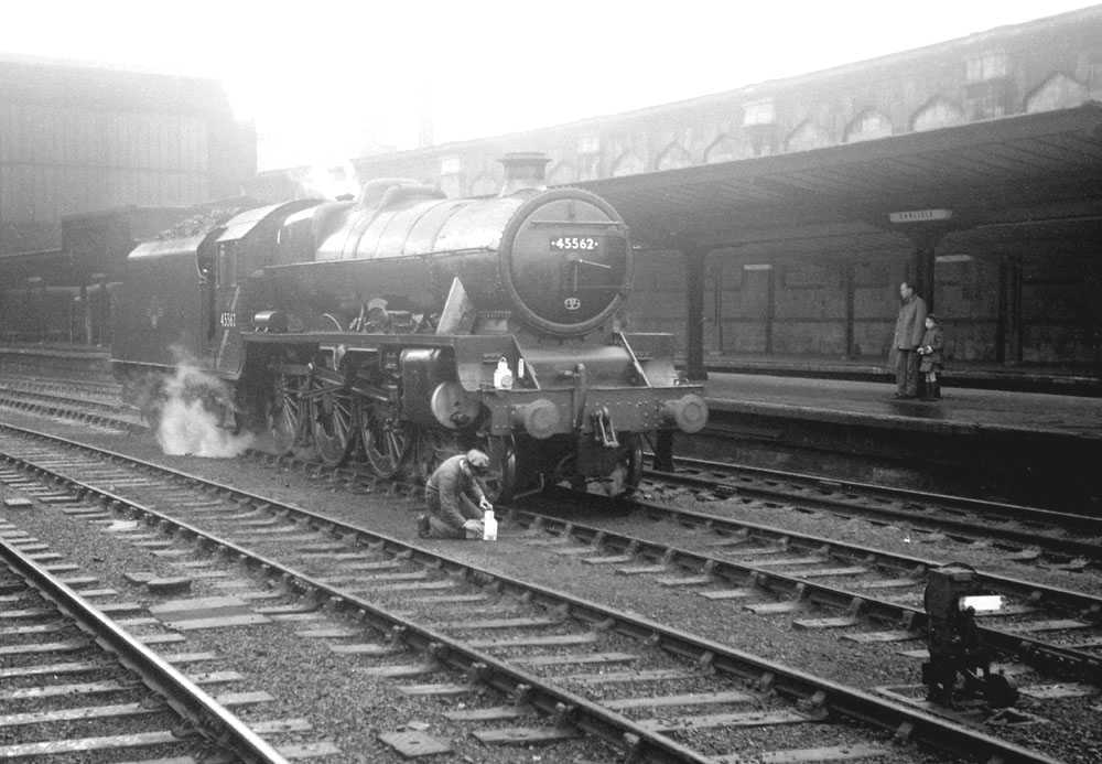 45562 Alberta at Carlisle, 25 February 1967