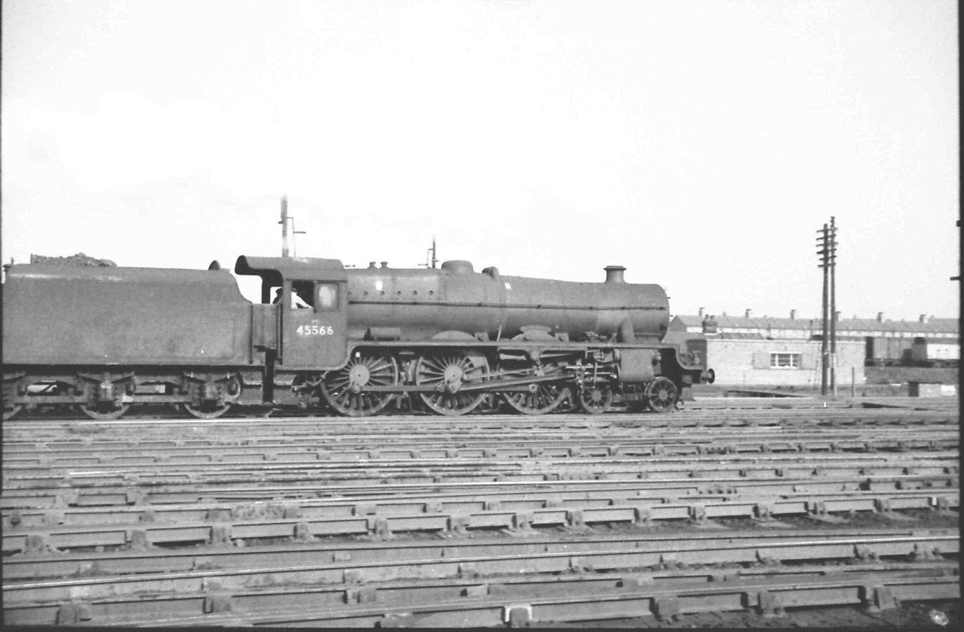 45566 Queensland at Brent (Cricklewood) in 1962