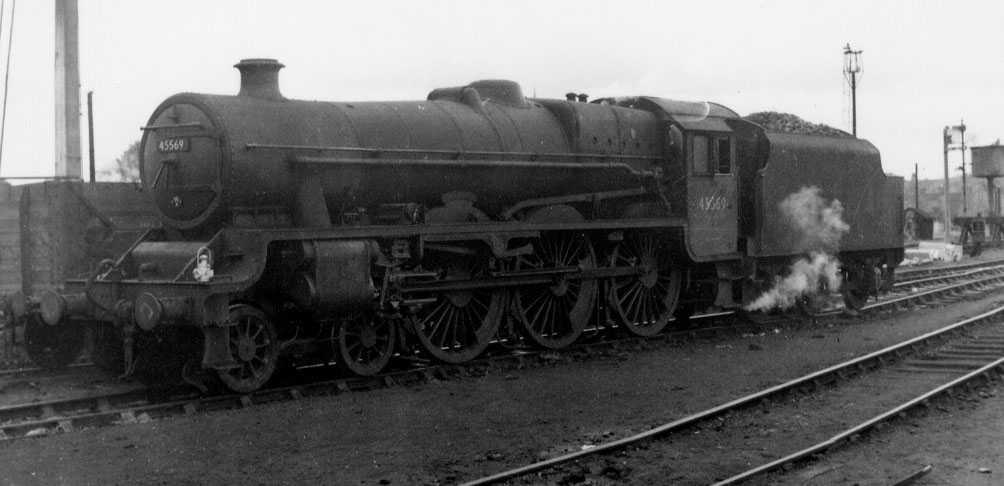 45569 Tasmania at Shrewsbury