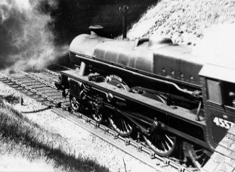 45570 New Zealand at Disley Tunnel, 26 July 1952