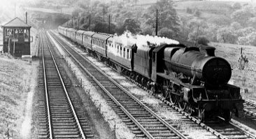45575 Madras at Disley, 25 May 1956