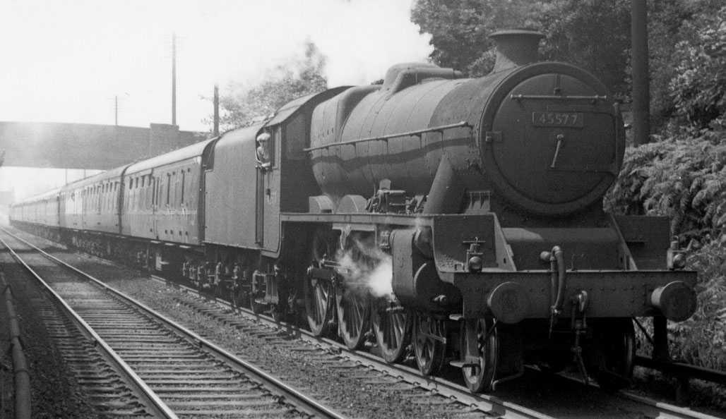 45577 Bengal at Bromsgrove in July 1959