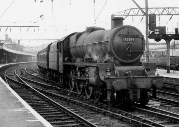 45578 United Provinces at Stockport Edgeley on 15 February 1963