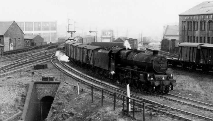 45581 Bihar And Orissa at Leeds Holbeck on 25 April 1962