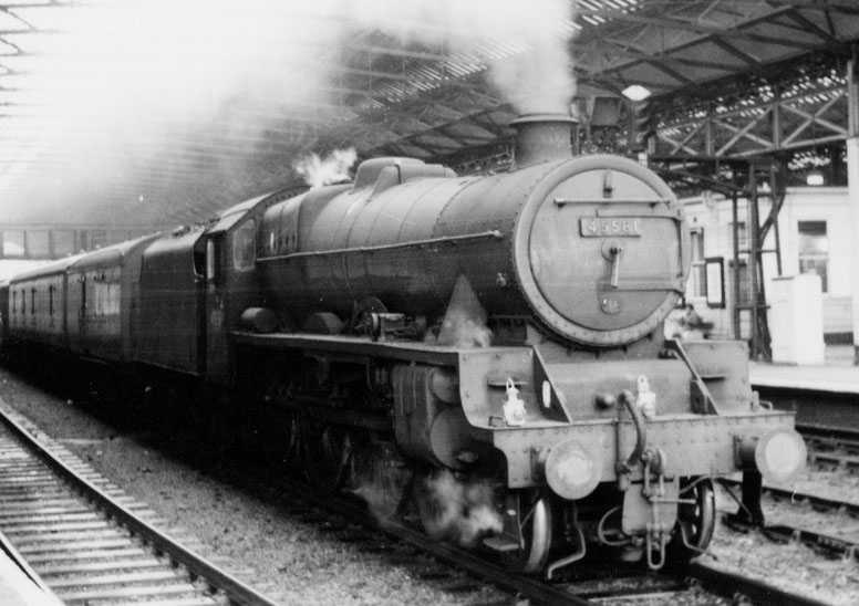 45581 Bihar And Orissa at Huddersfield on 18 May 1965