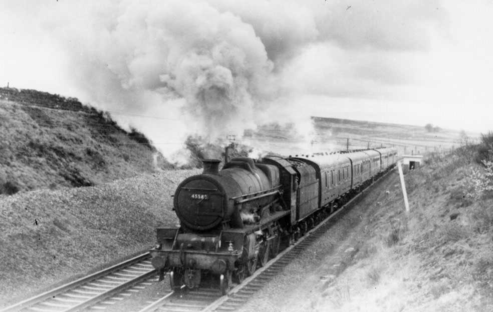 45583 Assam ascending Shap on 6 May 1964