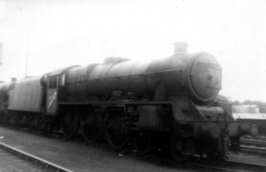 45588 Kashmir at Carlisle Kingmoor shed