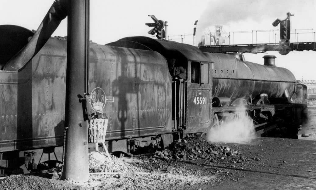 45591 Udaipur at Rugby on 10 January 1963