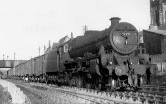 45593 Kolhapur at Eccles Junction