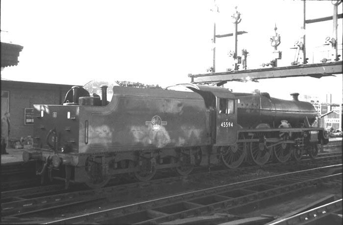 45594 Bhopal at Shrewsbury in early 1961