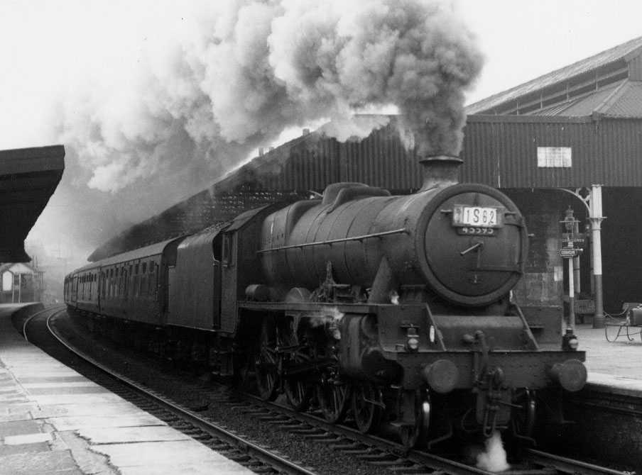45595 Southern Rhodesia at Oxenholme, 9 September 1961