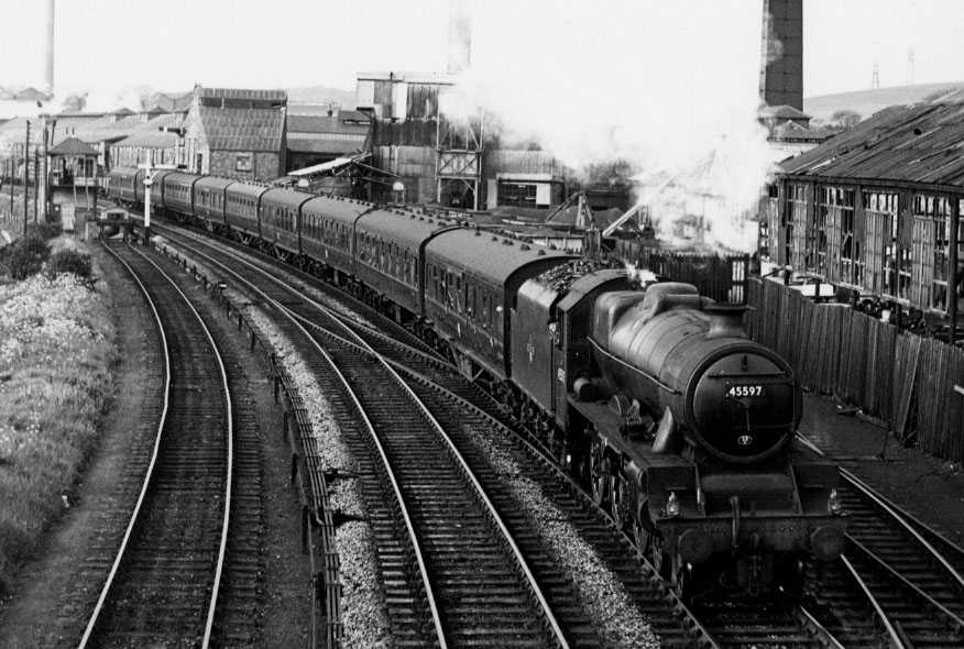 45597 Barbados at Lancaster, 27 May 1963