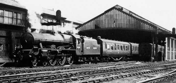 45601 British Guiana at Rugby in 1949