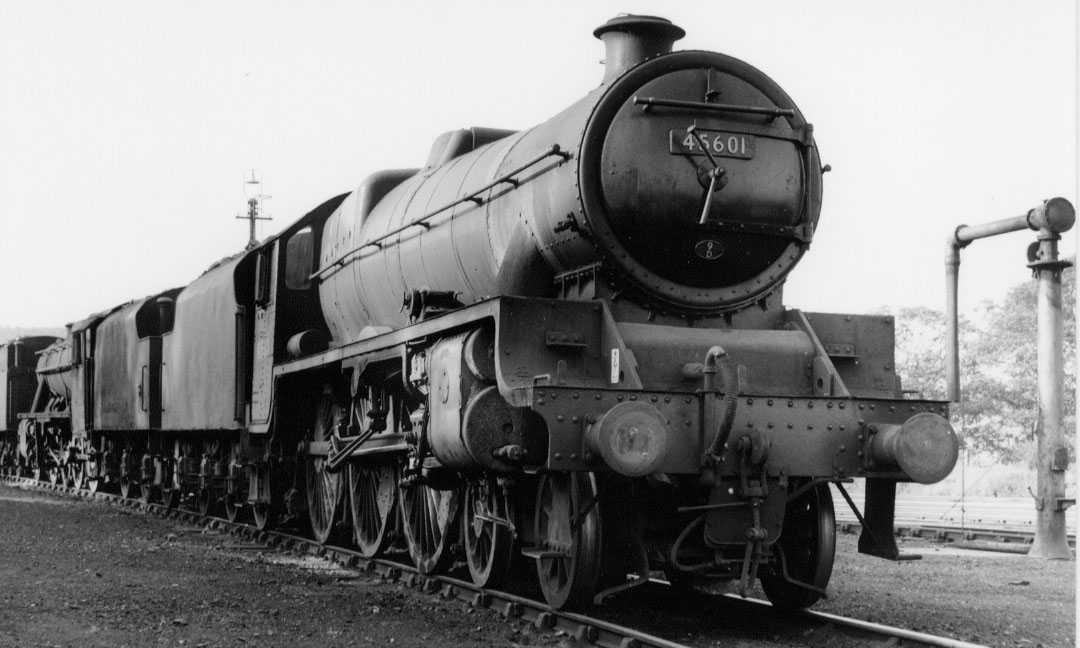 45601 British Guiana at Carnforth MPD, 15 July 1964