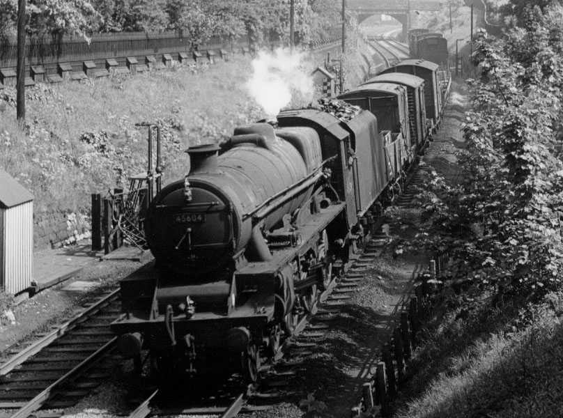 45604 Ceylon at Lancaster, 5 June 1962