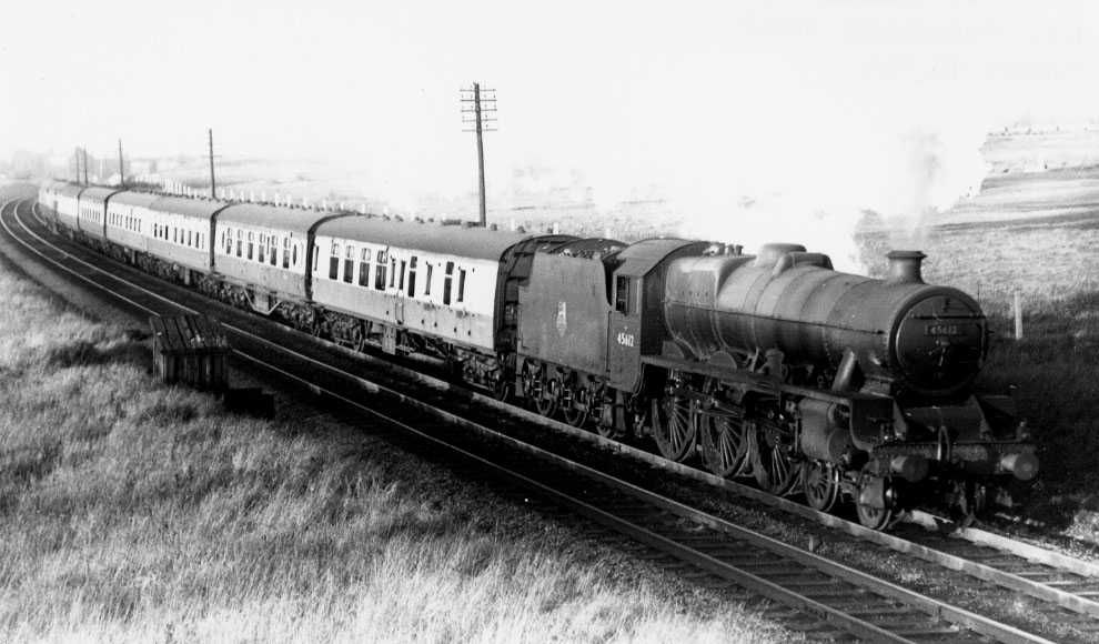45612 Jamaica at Cheadle Heath, 6 December 1953