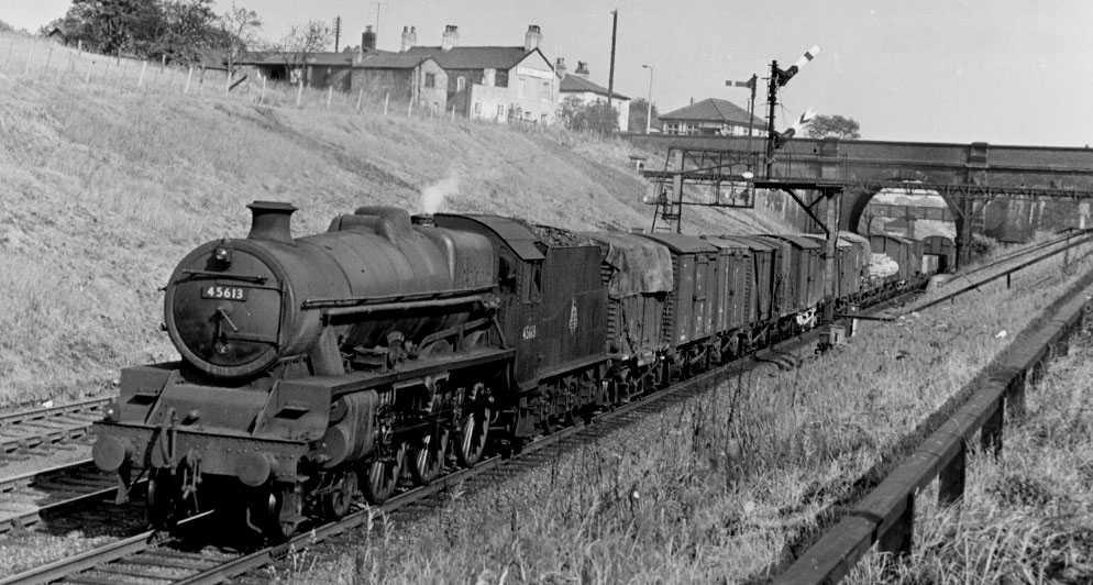 45613 Kenya at Hartford, 21 June 1957