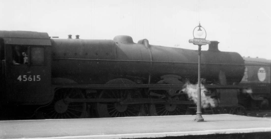45615 Malay States at Peterborough North on 18 April 1960