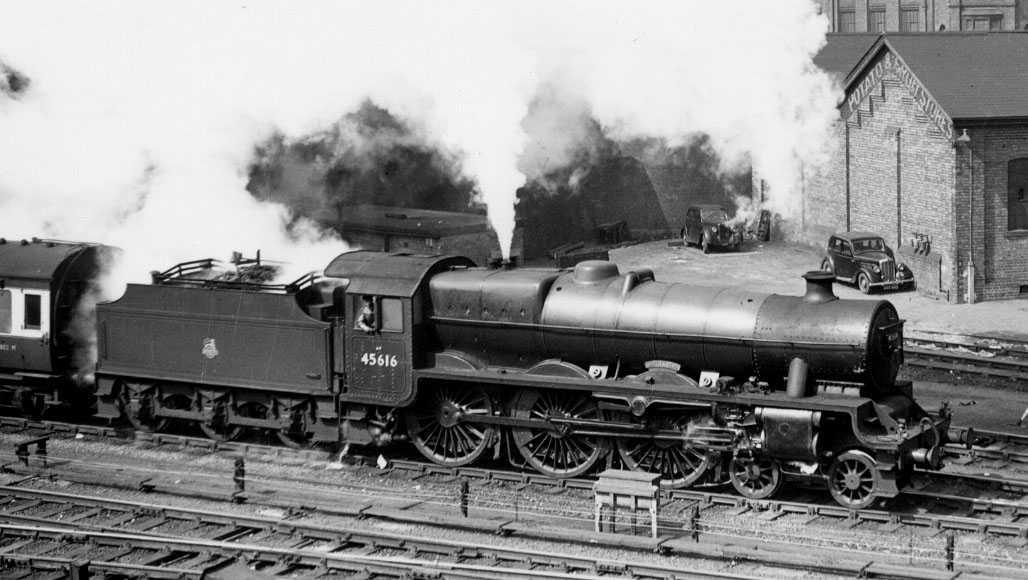 45616 Malta GC at Leicester, April 1956