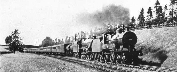 5621 Northern Rhodesia behind a Johnson 2P 4-4-0