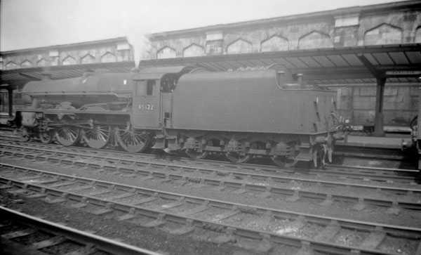 45622 Nyasaland at Carlisle, summer 1964