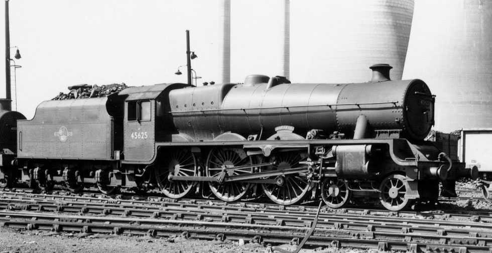 45625 Sarawak at Willesden, June 1959
