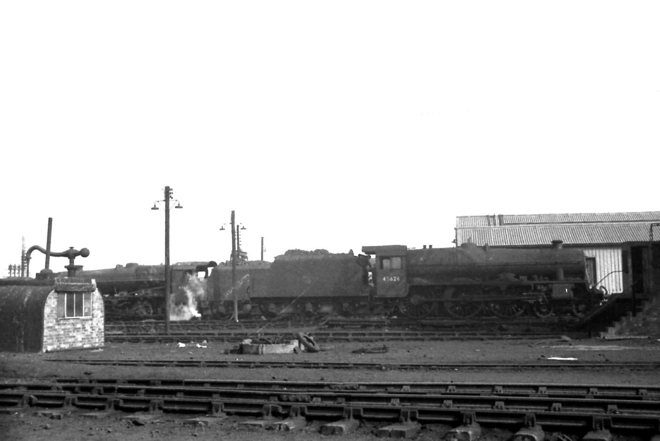 45626 Seychelles on Cricklewood loco in 1962