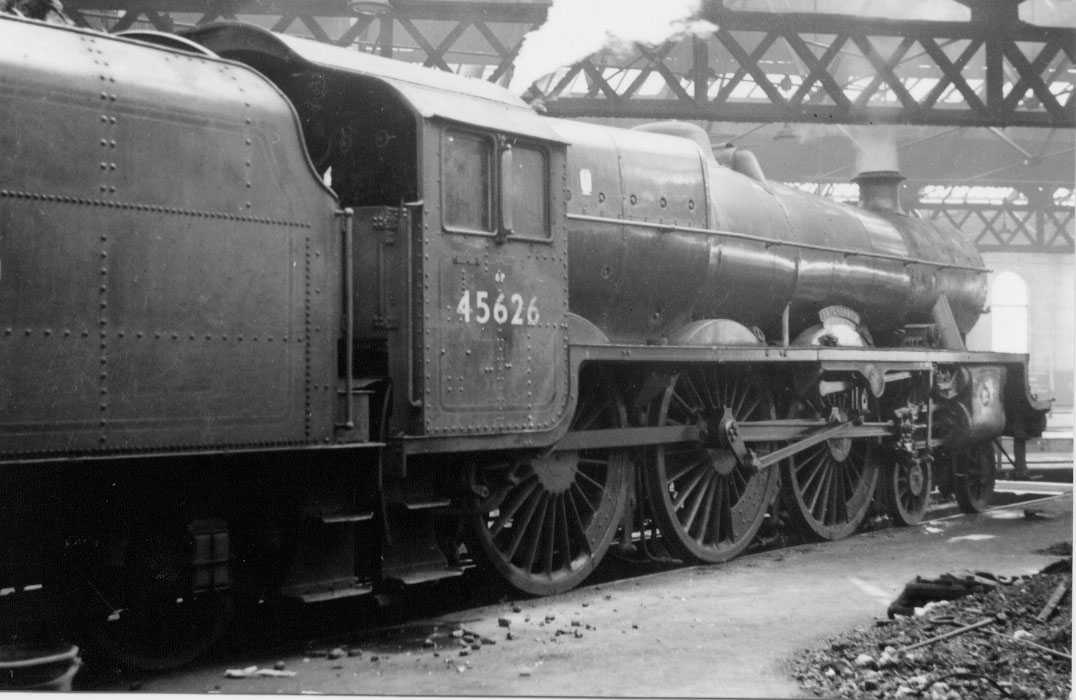 45626 Seychelles at Burton-on-Trent MPD on 7 May 1963