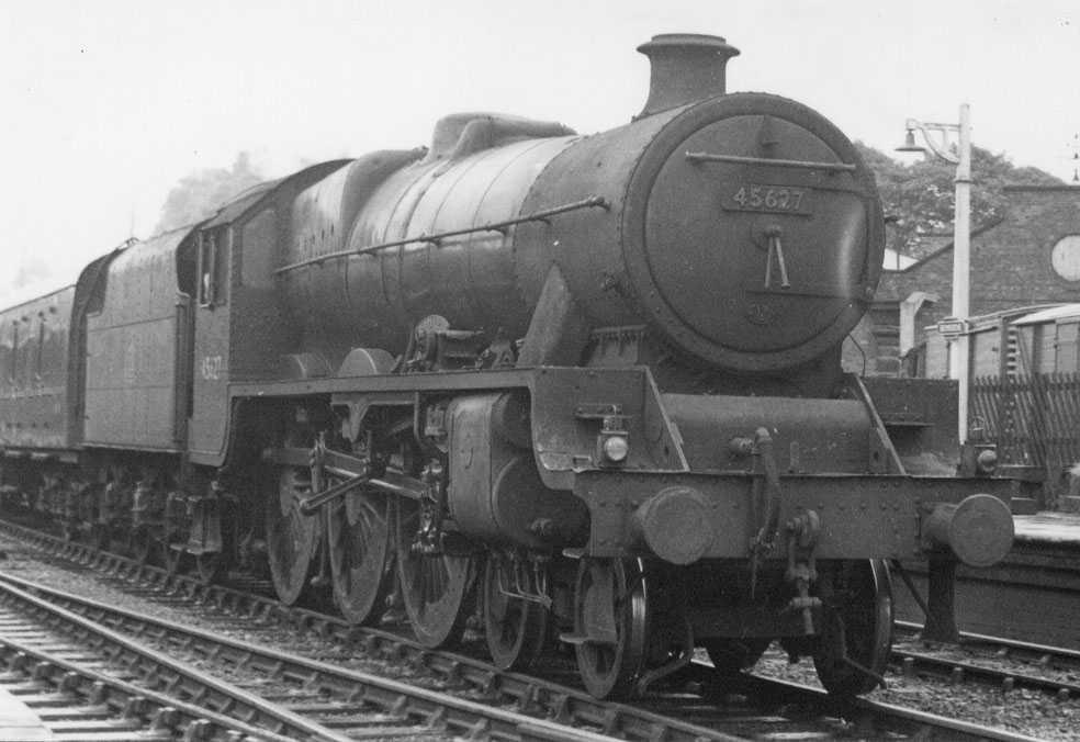 45627 Sierra Leone at Bromsgrove in June 1959