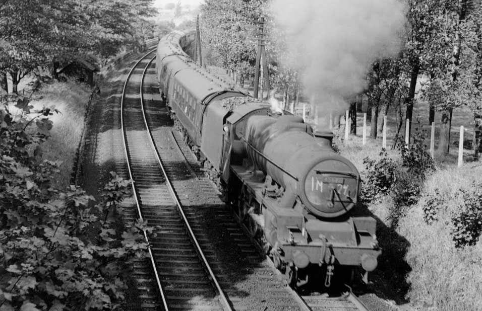 45627 Sierra Leone at Lancaster, 19 September 1964