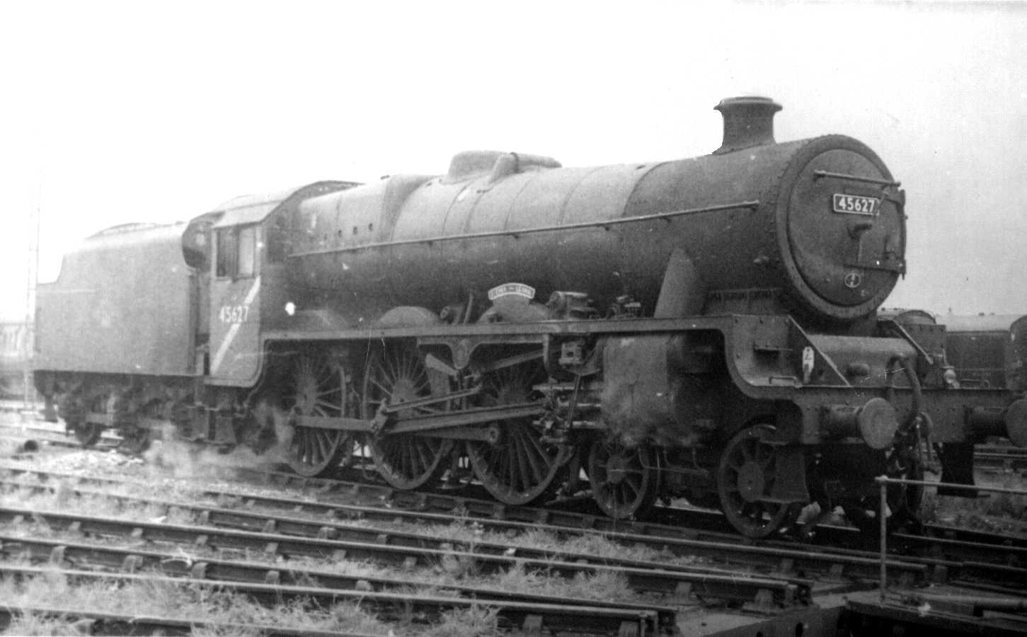 45627 Sierra Leone at Blackpool North, 19 July 1965
