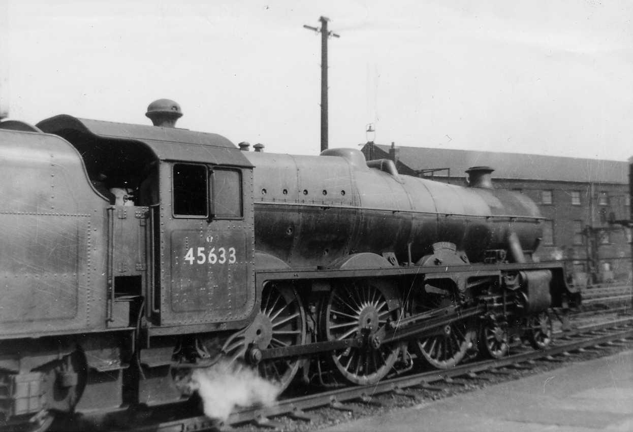 45633 Aden at Wigan North Western in May 1958