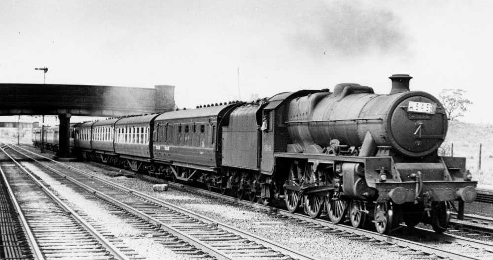 45633 Aden at Minshull Vernon, 26 May 1958