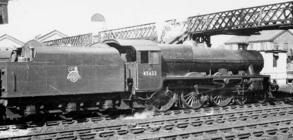 45633 Aden at Crewe