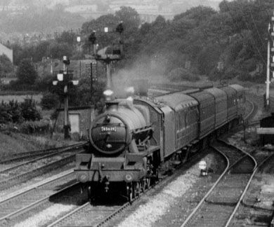 45639 Raleigh at Bingley in July 1958