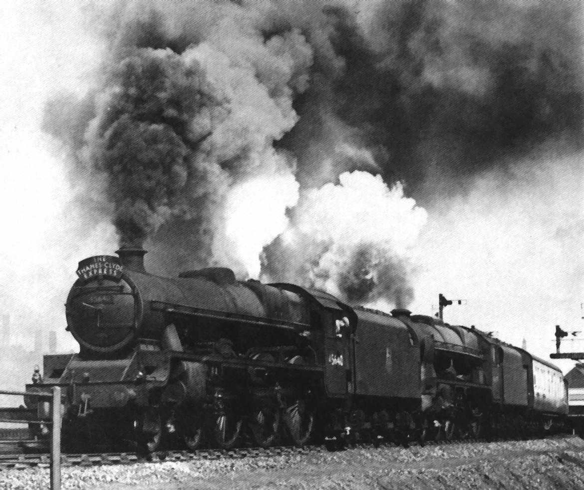 45640 Frobisher leading a double-headed train