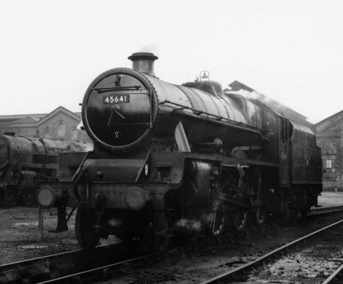 45641 Sandwich at Burton MPD on 7 May 1963