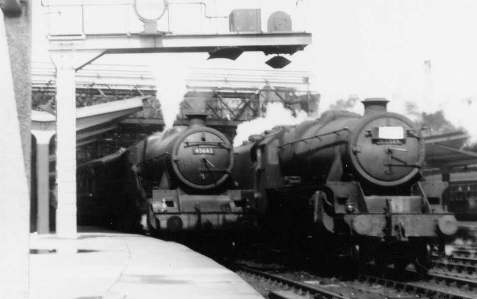 45643 Rodney at Carlisle on 12 August 1958 