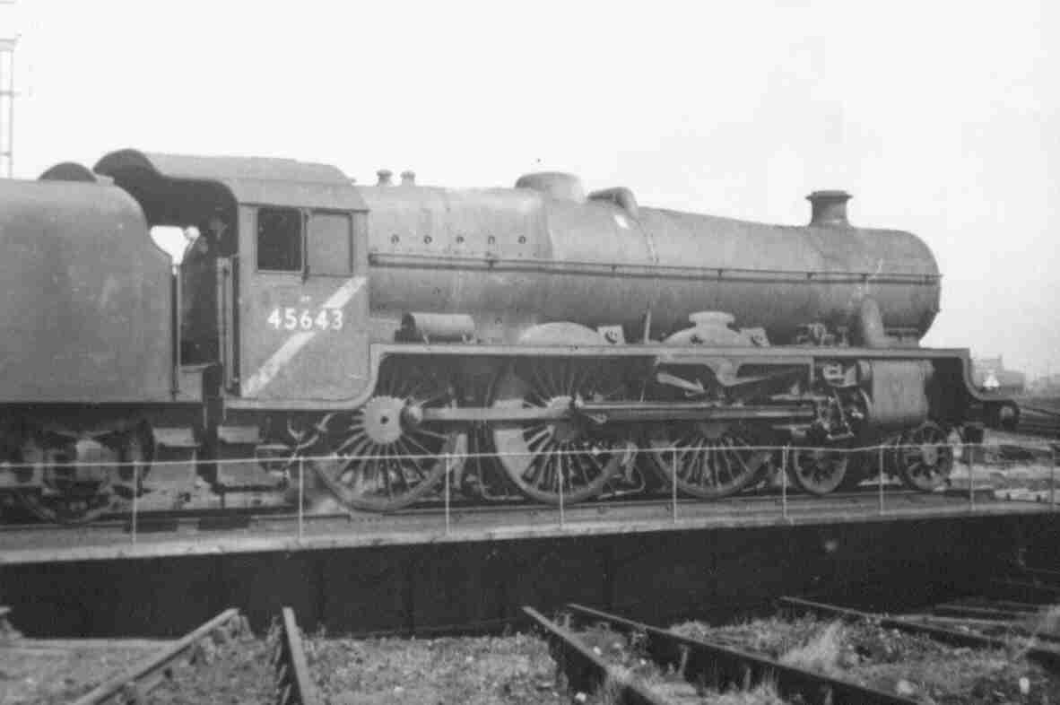 45643 Rodney at Blackpool North, 18 April 1965