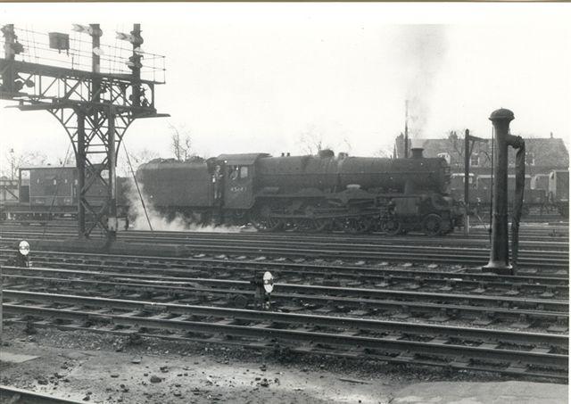45647 Sturdee at Preston in 1966