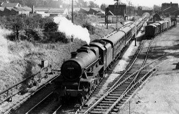 45648 Wemyss at Northend, 31 August 1958