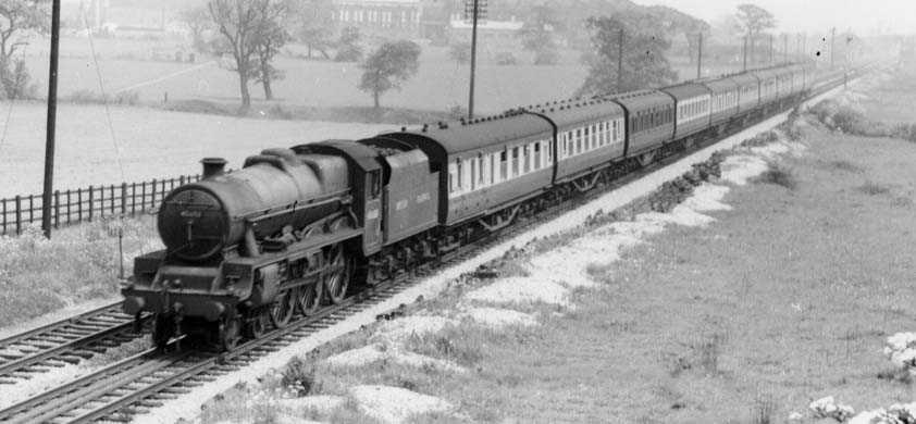 45650 Blake at Bramhall on 18 May 1952