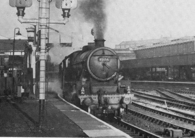45654 Hood at Manchester Victoria, March 1966